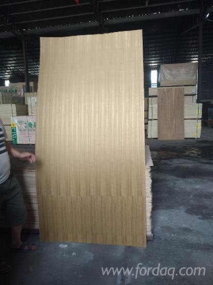 Crown Cut Natural Teak Plywood, AAA, 2-18 mm