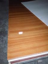 Veneer And Panels - Waterproof Melamine Paper Faced Laminated Plywood, 1220x2440 mm