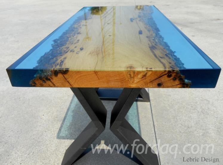 Epoxy Resin and Wood Dining Tables (Design Style)