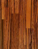 Vender Painel De Madeira Maciça Zingana 16; 19; 25; 26; 30; 32; 40; 42; 52; 60 mm Itália