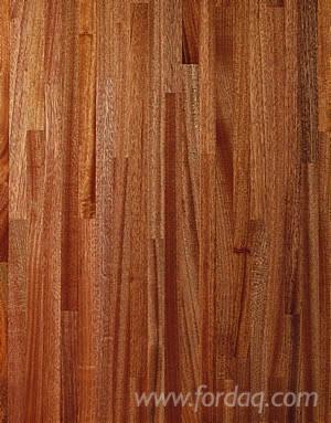 Sapelli Solid FJ Panel (1 Ply), A/B, 4000 mm