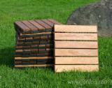 Acacia Garden Deck Tiles, 12x300 mm