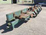 Woodworking Machinery - Used Renholmen Roll Conveyor (+Pusher), 1998
