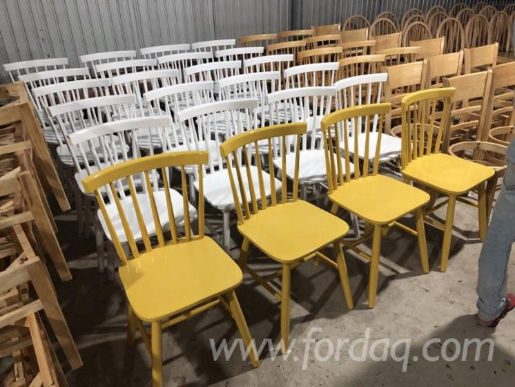 Acacia/Rubberwood Kitchen Chairs (Vietnam)