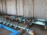Woodworking Machinery Materials Handling Equipment - Used Hammars SharkFin Board Turning System, 1987
