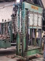 Woodworking Machinery - Used Cortazar Fiber/Particle Board Press, 1989