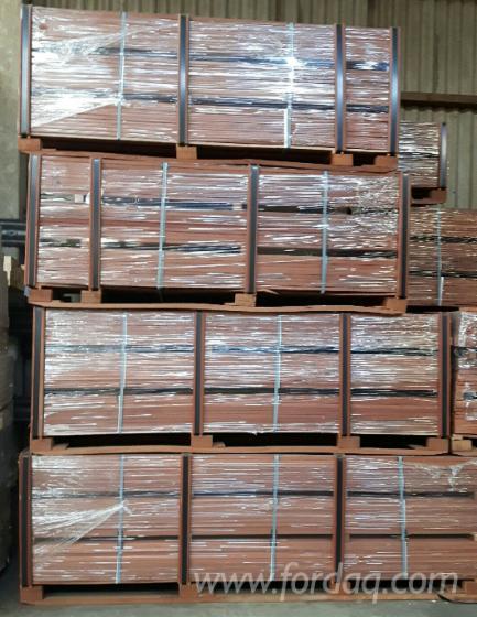 FSC Mukulungu Planks, KD, 25x145 mm