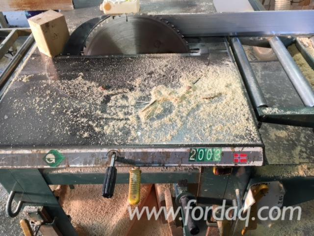 Used Ernex AS2003 Circular Resaw (Cross Cutting) - 1998