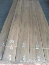 Vend Placage Naturel Teak Quartier (fil)