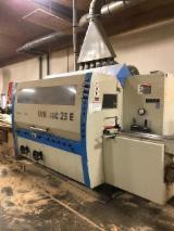 Woodworking Machinery Automatic One Side Rod Moulder - Used Weinig Model Unimat 23E Six Head Feed Through Moulder w/ Tooling!