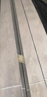 Black Walnut Natural Dyed Veneer (Flat Cut, Plain), 0.5 mm