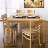 Négoce International De Meubles De Salle À Manger - Vend Ensemble Table Et Chaises Pour Salle À Manger Design Feuillus Asiatiques Hevea