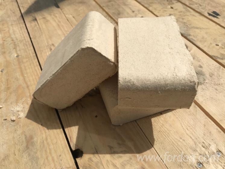 Birch RUF Wood Briquets, 0.6% Ash