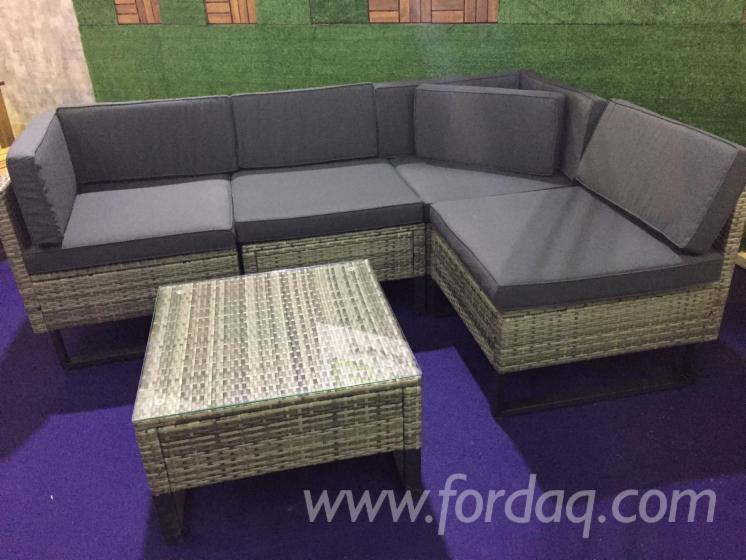 New Style Outdoor Furniture Rattan Sofa Set