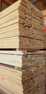 Find best timber supplies on Fordaq - Scierie Zahnd SA - Spruce Packaging Lumber, 46 x 100-160 x 4000 mm