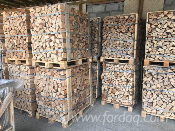 Gewerblicher Handel Buche Brennholz Gespalten Ukraine