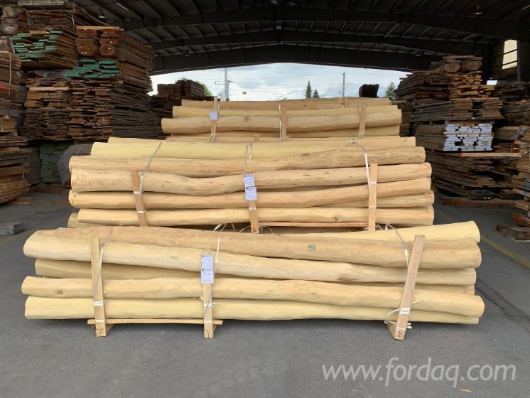 Vender Madeira Redonda Aparada De Forma Cilíndrica Acácia FSC Áustria