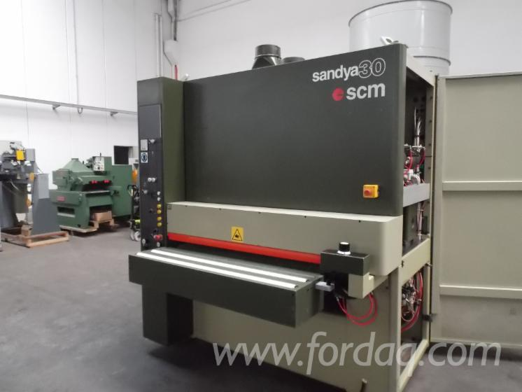 Used-SCM-SANDYA-30-1995-Belt-Sander-For-Sale