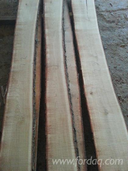 Selling Oak Unedged Lumber, 18 mm, 5.8%