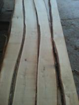 Oak Unedged Lumber For Sale, 18 mm, KD