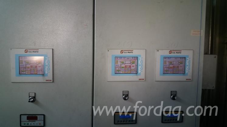 Automatic Control Steering System for Wood Dryers (3 Chambers)