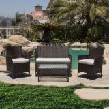 New Design Luxury Rattan Outdoor Set (4 pieces)