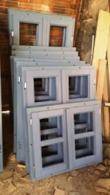 Pine Wooden Windows, 50 pcs./month