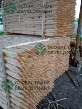 Pine Rounded Poles and Sharp Stakes, ABC
