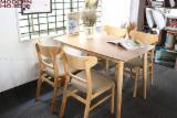 Acacia+Rubberwood Dining Furniture Sets