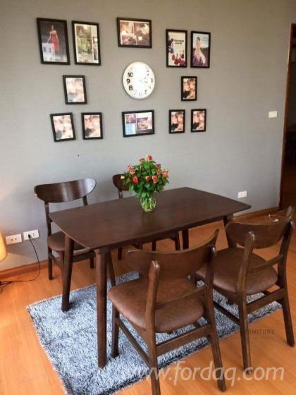 Acacia+Rubberwood Dining Furniture Sets