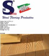 Larch decking boards, 25 x 150 x 3300-3600 mm