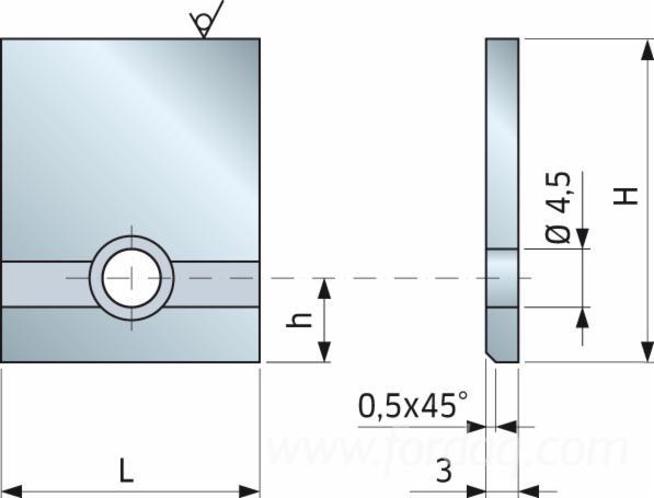 Iron Blank Profiling - 0318M