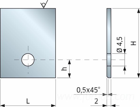 Iron Blank Profiling - 0339M