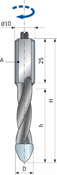 Inox Screws for Drill PF05MD - PF05MS