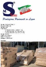 Lamelle rovere rustic dimensioni 3.2/4x190/180/195x400-2400 mm