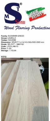 Oak Lamellas (Select Grade), 3.2x170 mm