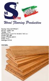 Teak Nature Grade Lamellas, 3.2x125 mm