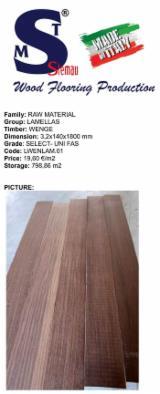 Wenge Lamellas, FAS, 3.2x140 mm