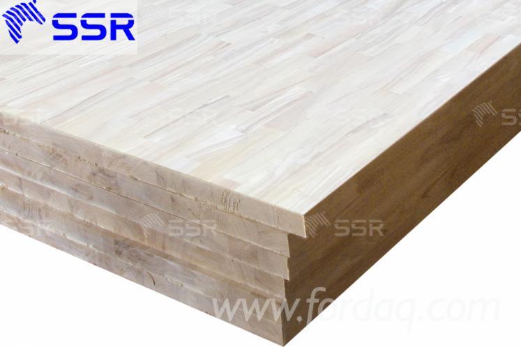Vendo-Pannello-Massiccio-Monostrato-Rubberwood-10--12--15--18--22--33--38--40--44