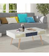 Tables for sale. Wholesale exporters - Modern Coffee Table (1 Drawer & 2 Shelves)