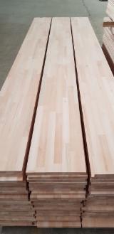 Solid Wood Panels - Beech FJ Solid Panels, FSC, 18-40 mm
