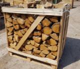 劈切薪材 – 未劈切 碳材/开裂原木 橡木
