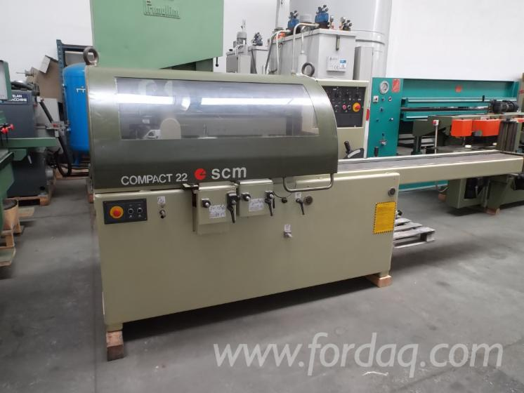 Used-SCM-Compact-22-Moulding-Machine-for-4-Side-Machining