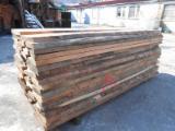 KD Beech Unedged Lumber, Lightly Steamed, AB Grade, 50 mm