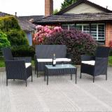 KD Design Cheap 4 pcs Outdoor Patio Garden Furniture