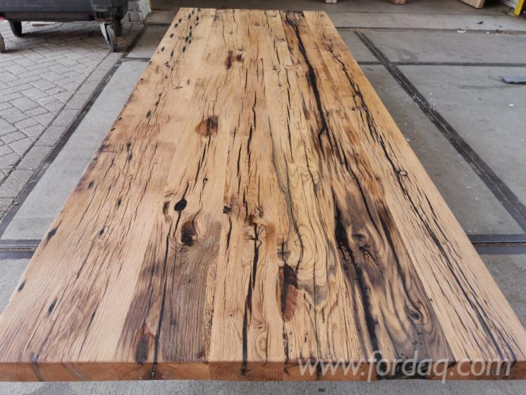 Oak-and-Epoxy-Resin-Dining