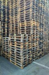 Paletes E Embalagens De Madeira - Vender Palete Euro - Epal Para Ser Reciclado - Para Ser Reparado Alemanha