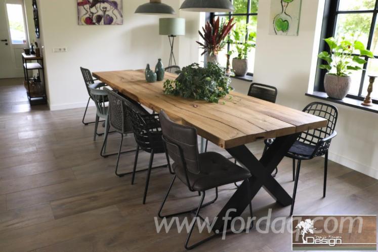 Vender Mesas Design De Móveis Madeira Maciça Européia Carvalho Holanda