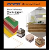 Melamine laminated MDF / plywood / chipboard / particle board