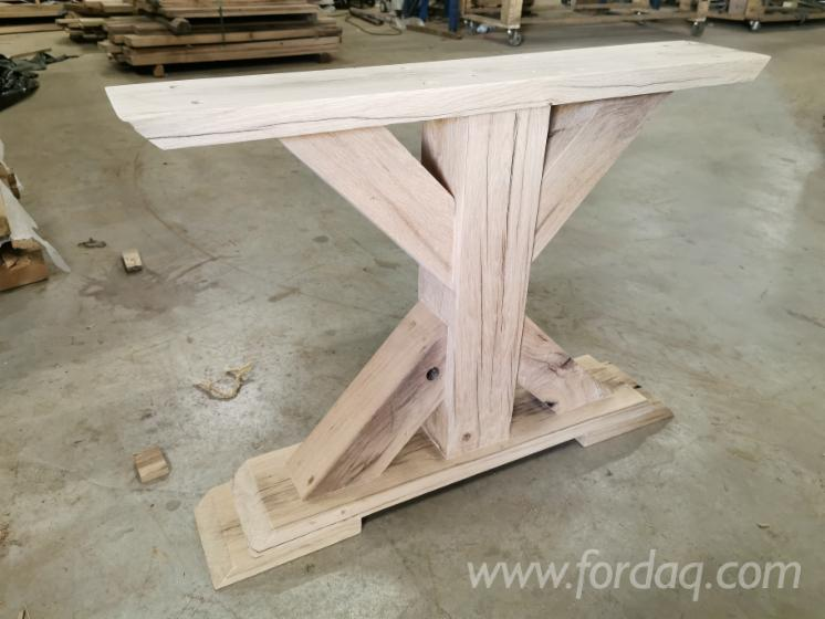 Old-Oak-%28with-Metal-base%29---Table-Tops